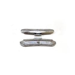 50гр Груз балансировочный Pb стандарт, коробка 50шт Автобаланс Грузики балансировочные Расходные материалы