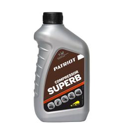Patriot Compressor Superb компрессорное масло (1л) Patriot Головки компрессорные Компрессоры