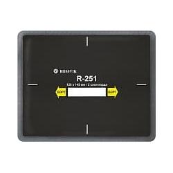 R-251 Пластырь кордовый радиальный 115*145мм (упак. 10шт) Rossvik Радиальные пластыри Расходные материалы