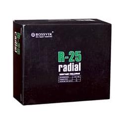 R-25 Пластырь кордовый радиальный 115*145мм (упак. 10шт) Rossvik Радиальные пластыри Расходные материалы