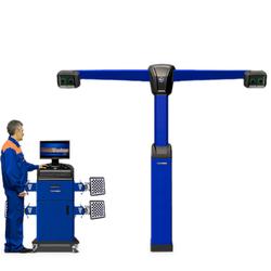 Техно Вектор 7 (V 7204 T S) Стенд для сход-развала с технологией 3D Технокар Стенды сход-развал Автосервисное оборудование